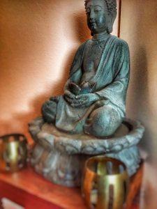 Buddha-Statue im Yoga und Ayurveda Zentrum Hofheim